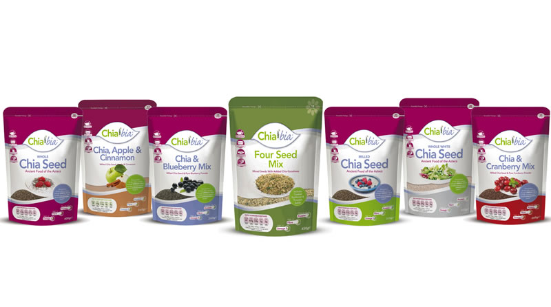 Chia Bia Product Range Shot