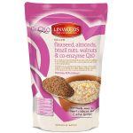 Linwoods Milled Flaxseed Almonds Brazil Nuts Walnuts Co Enzyme Q10