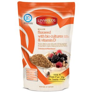 Linwoods Milled Flaxseed Bio Cultures Vitamin D