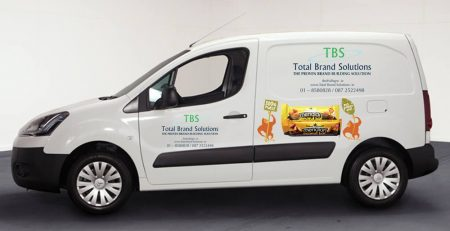 Total Brand Solutions Van Delivery