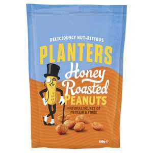 Planters Honey Roasted Peanuts 180g