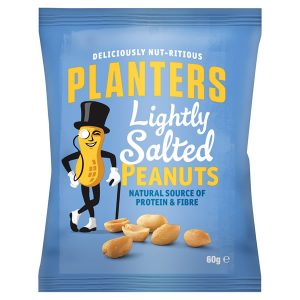 Planters Lightly Salted Peanuts 60g
