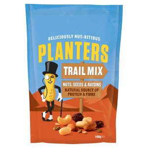 Planters Nuts Seeds Raisins 160g