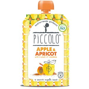 Piccolo Organic Apple and Apricot Baby Food