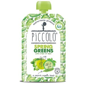 Piccolo Organic Spring Greens Baby Food