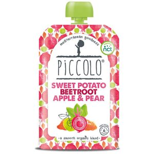 Piccolo Organic Sweet Potato Beetroot Baby Food