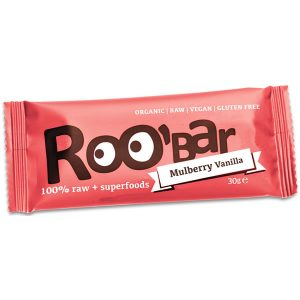 Roobar Mulberry and Vanilla Bar 30g