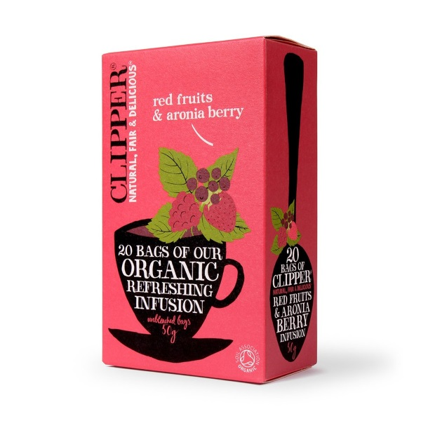 clipper fairtrade organic red fruits aronia berry. Black Bedroom Furniture Sets. Home Design Ideas