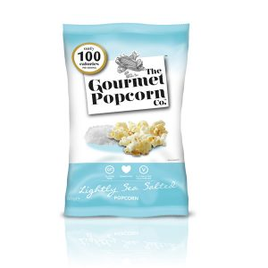 Gourmet Popcorn Lightly Sea Salted 60g