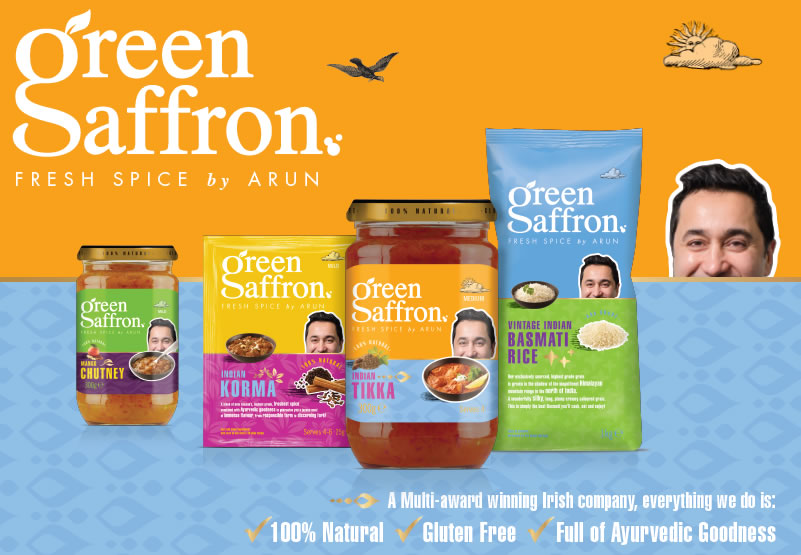 Green Saffron - Fresh Spice by Arun