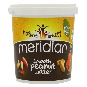 Meridian Smooth Peanut Butter 454g Tub