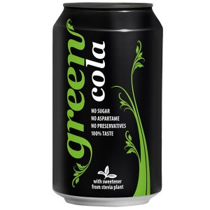 Green Cola 330ml Can Case of 24