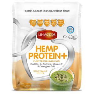 Linwoods Organic Hemp Protein Plus Flaxseed Bio Cultures Vitamin D Co Enzyme Q10