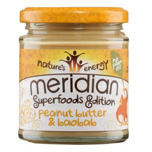 Meridian Peanut Butter and Baobab 170g