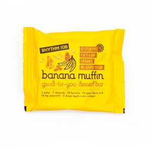 Rhythm 108 Banana Muffin Dessert Bar 24g