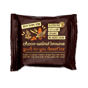 Rhythm 108 Good For You Choco Walnut Dessert Bar 24g