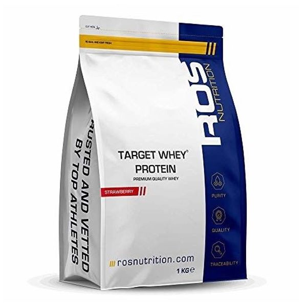 ROS Nutrition Target Whey Protein Strawberry 1kg