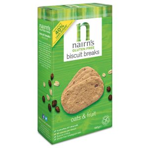 Nairn's Oats and Fruit Biscuit Breaks 160g