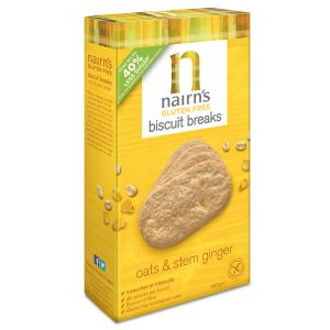 Nairn's Oats and Stem Ginger Biscuit Breaks 160g