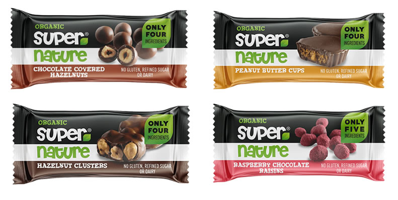 Supernature Dairy Free Chocolate Bars - Vegan - Gluten-Free